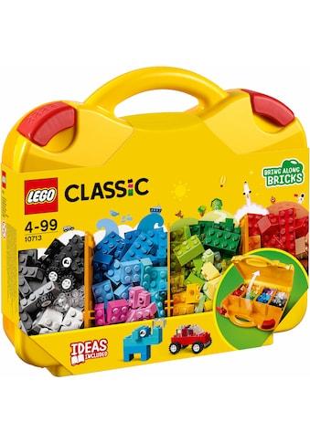 """LEGO® Konstruktionsspielsteine """"Starterkoffer  -  Farben sortieren (10713), LEGO® Classic"""", Kunststoff, (213 - tlg.) kaufen"""