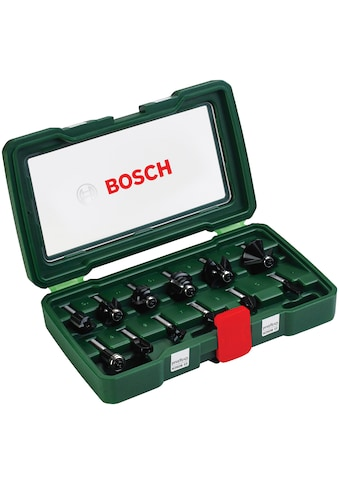 BOSCH Fräsbohrer, (Set, 12 tlg.), HM-Fräser 8 mm Schaft kaufen