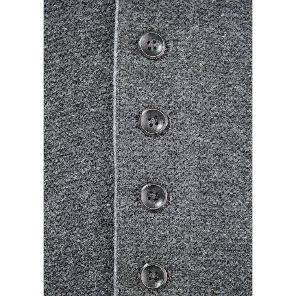 Spieth & Wensky Trachtenweste, mit Knopfverschluss