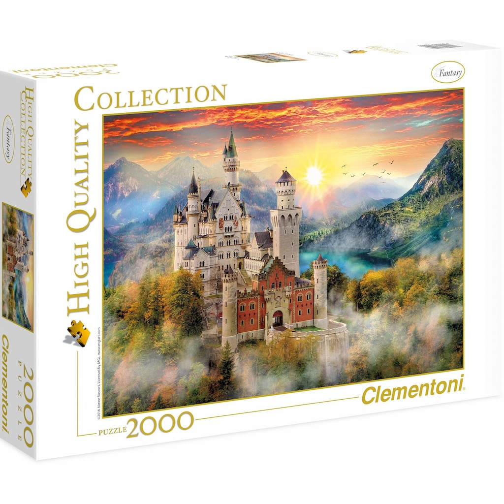 Clementoni® Puzzle »High Quality Collection - Neuschwanstein«, Made in Europe