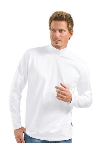 Trigema Langarmshirt, mit Stehkragen kaufen