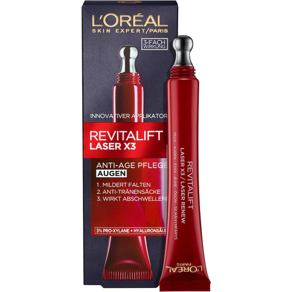 L'ORÉAL PARIS Augencreme »RevitaLift Laser X3 Anti-Age Pflege«