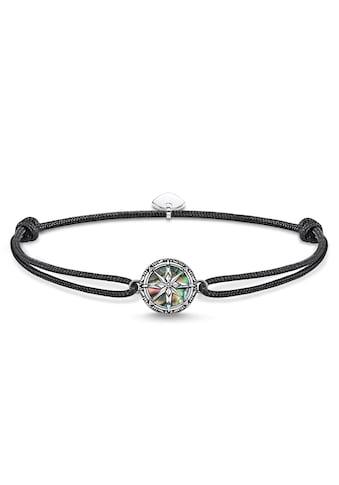 THOMAS SABO Armband »Little Secret Kompass Abalone Perlmutt, LS085-907-11-L22v«, mit Perlmutt kaufen