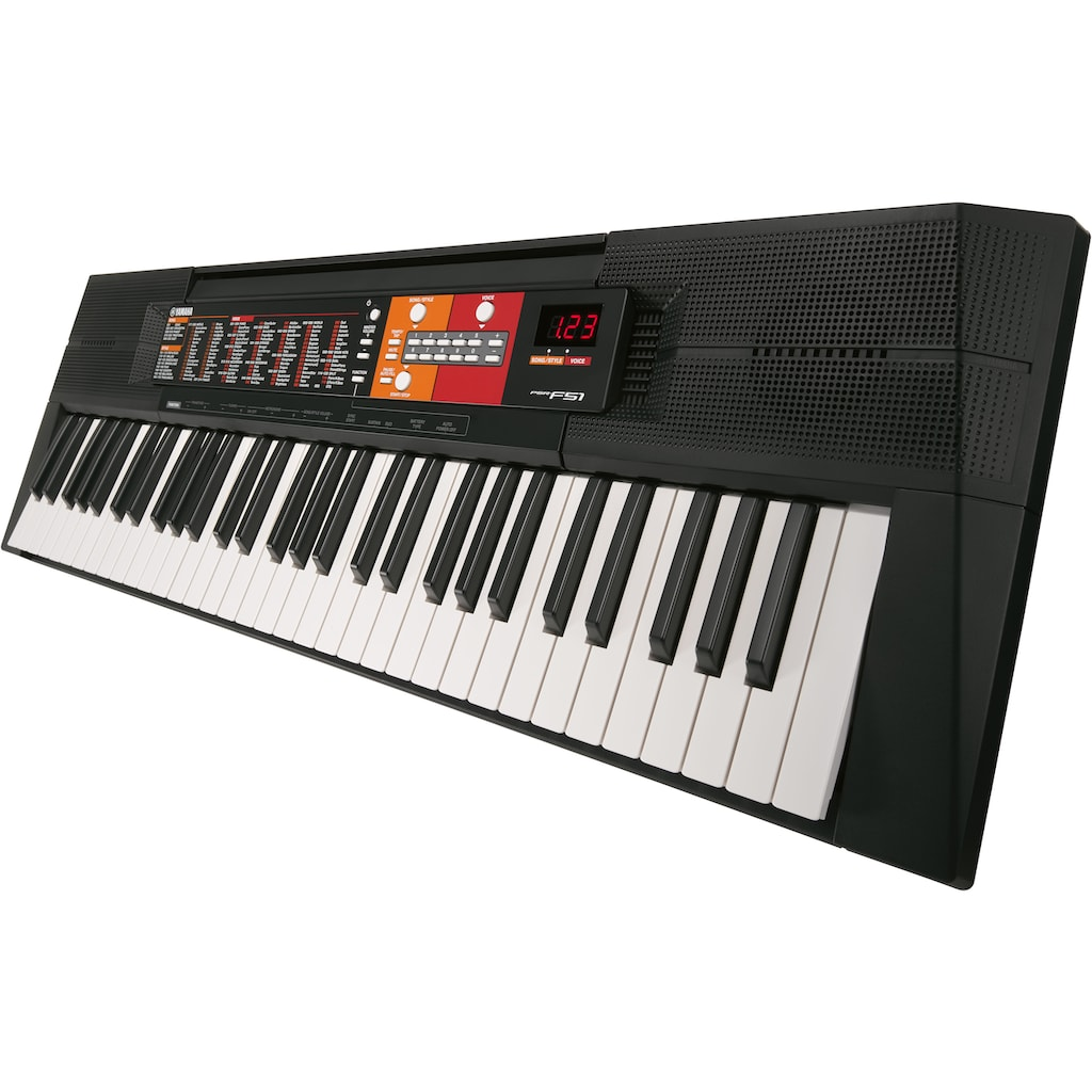 Yamaha Keyboard »PSR-F51«, leicht zu bedienen