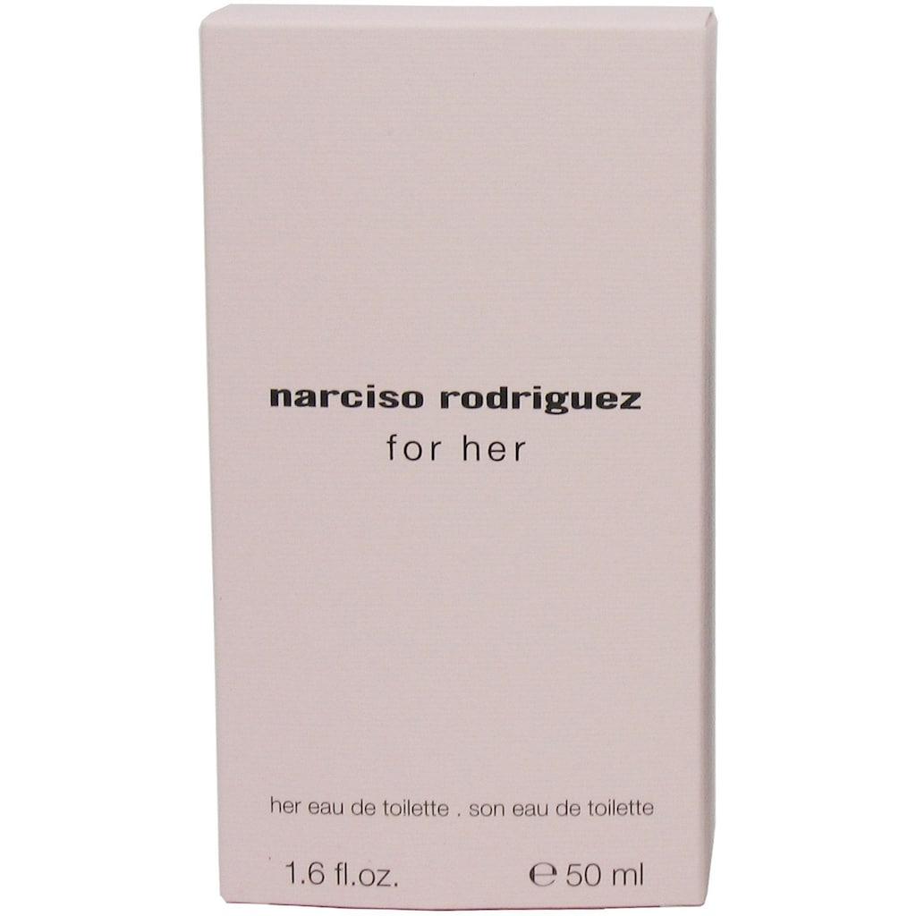 narciso rodriguez Eau de Toilette »For Her«