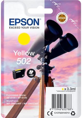 Epson Tintenpatrone »Singlepack Yellow 502 Ink« kaufen