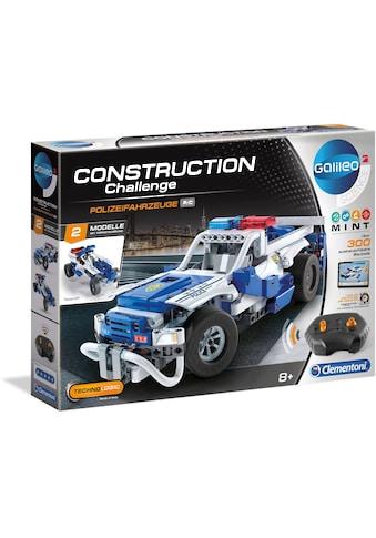 Clementoni® Modellbausatz »Galileo Construction Challenge - Polizeifahrzeuge«, mit... kaufen