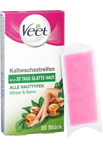 Veet Kaltwachsstreifen »Essential Inspirations mit Easy-Gelwax«, für alle Hauttypen kaufen