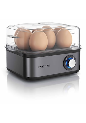 Arendo Edelstahl Eierkocher für bis zu 8 Eier »EIGHTCOOK Cool Grey« kaufen