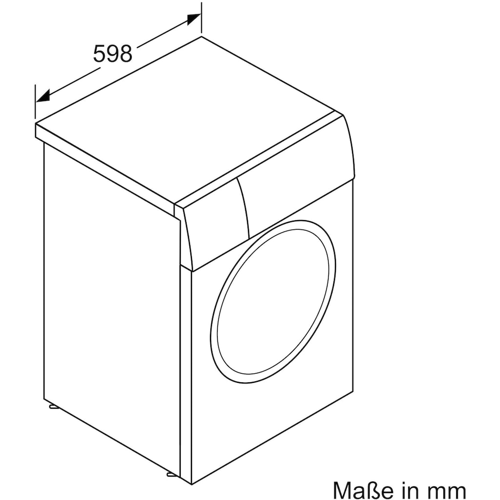 BOSCH Waschmaschine »WAV28K42«, 8, WAV28K42, 9 kg, 1400 U/min