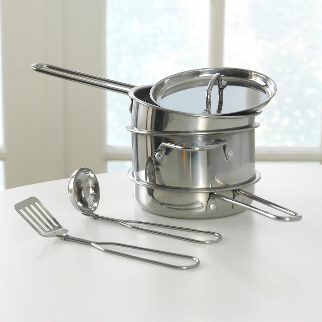 KidKraft® Kinder-Küchenset »Luxus Kochset«, (11 tlg.)