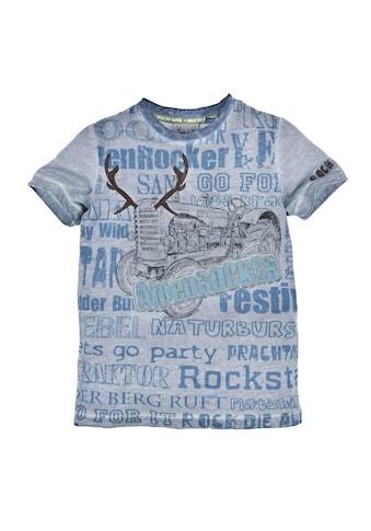BONDI Kurzarmshirt, mit coolen Statement Sprüchen kaufen