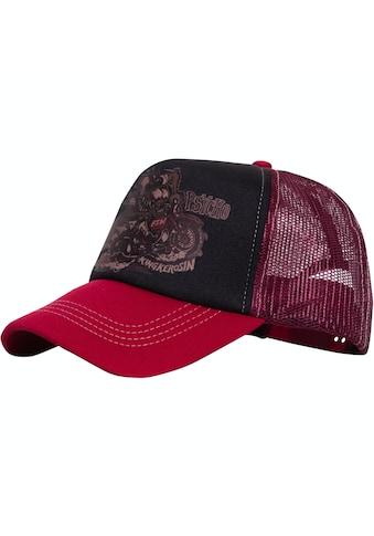 KingKerosin Baseball Cap »Moto Psycho«, mit wattierter Front und Motiv-Print kaufen