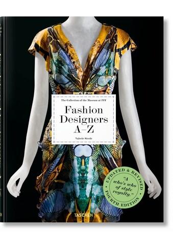 Buch »Fashion Designers A-Z. Updated 2020 Edition / DIVERSE« kaufen