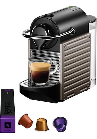 Nespresso Kapselmaschine »XN305T Pixie«, mit separatem Milchaufschäumer Aeroccino kaufen
