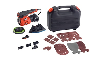BLACK + DECKER Set: Multischleifer »220W Autoselect 4 - in - 1« kaufen