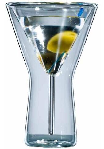 Bloomix Martiniglas, (Set, 6 tlg.), Doppelwandige Ausführung, 6-teilig kaufen