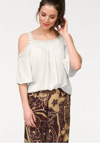 Aniston CASUAL Schlupfbluse, mit Häkelspitze kaufen