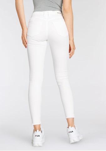 Please Jeans Slim-fit-Jeans »PONH«, mit ausgefranten Säumen kaufen