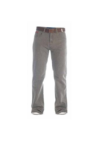 Duke Clothing Cordhose »London Herren Brian Bedford Kord Hose mit Gürtel« kaufen