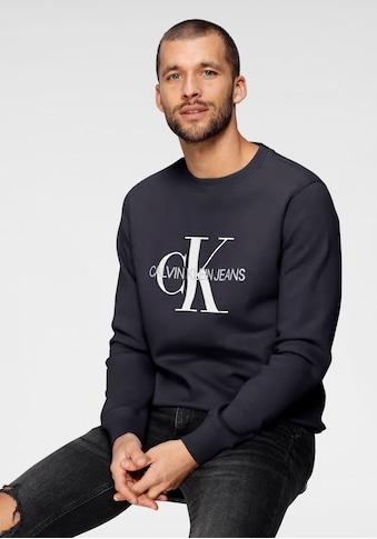 Calvin Klein Jeans Sweatshirt »ICONIC MONOGRAM CREWNECK« kaufen