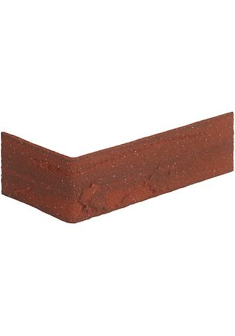 ELASTOLITH Verblender »Colorado Eckverblender«, rot, für Außen- und Innenbereich, 2 Lfm kaufen