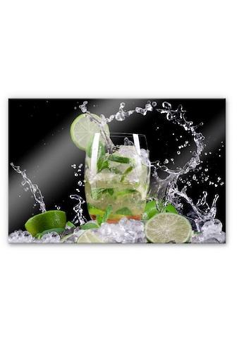 Wall-Art Küchenrückwand »Spritzschutz Splashing Mojito« kaufen