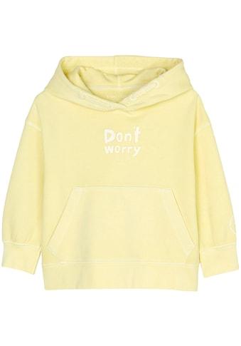 Marc O'Polo Junior Kapuzensweatshirt, mit Sprüchedruck kaufen