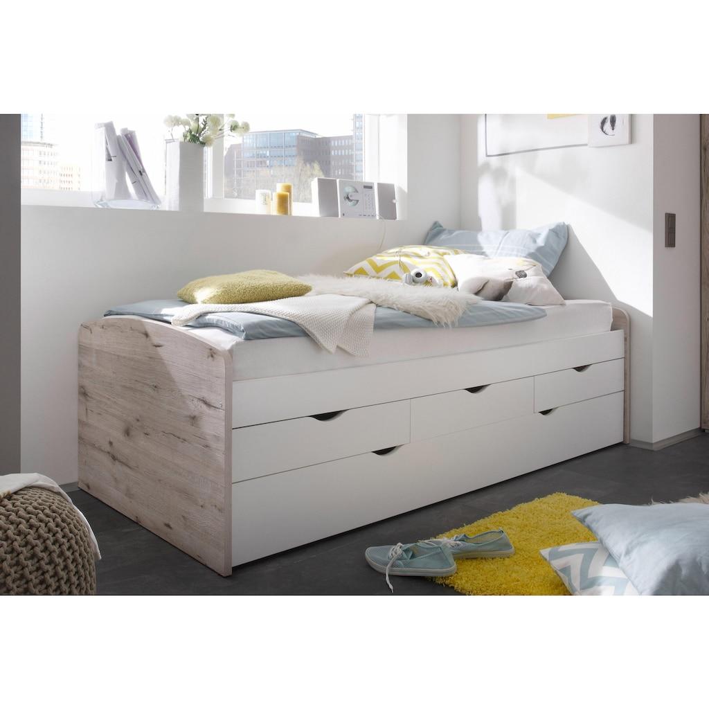 Begabino Funktionsbett, mit 2. Schlafgelegenheit