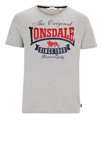 Lonsdale T-Shirt mit modischem Print kaufen