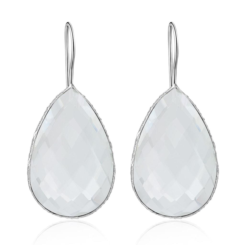 AILORIA Paar Ohrhänger »TULIPE Ohrringe«, mit Edelstein in Tropfenform in AAA-Qualität