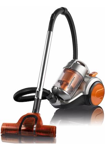 CLEANmaxx Bodenstaubsauger »Zyklon-Staubsauger Pet Star«, 700 W, beutellos, orange/silber kaufen