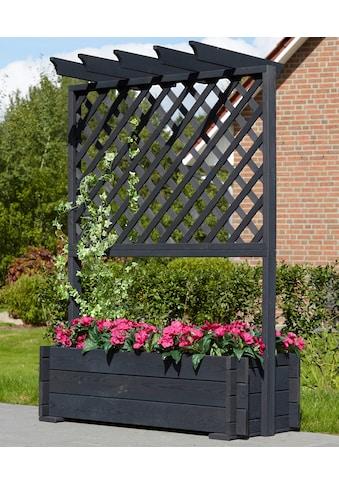 PROMADINO Holzspalier Pergola mit Pflanzkasten, BxTxH: 102x65x140 cm kaufen