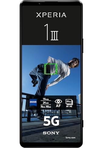 """Sony Smartphone »Xperia 1 III 5G, 256GB«, (6,5 cm/16,51 """", 256 GB Speicherplatz, 12 MP... kaufen"""