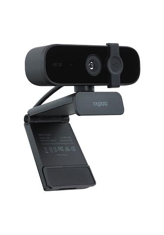 """Rapoo Webcam »Mit USB Plug & Play«, Full HD, """"XW2K"""" 2K (4MP), 360° Schwarz kaufen"""