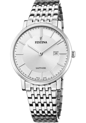 Festina Schweizer Uhr »Festina Swiss Made, F20018/1« kaufen