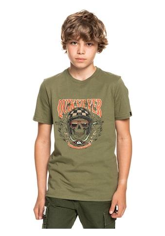 Quiksilver T-Shirt »Biker Skull« kaufen