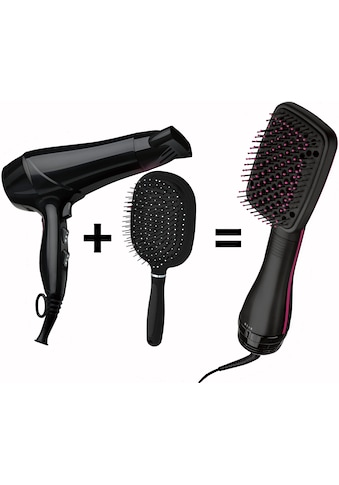 Revlon Haarglättbürste »RVDR5212UK2«, Ionen-Technologie, Salon One-Step Hair Dryer &... kaufen