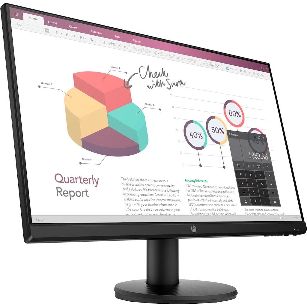 "HP LCD-Monitor »P24v G4«, 60,5 cm/23,8 "", 1920 x 1080 px, Full HD, 5 ms Reaktionszeit, 60 Hz"
