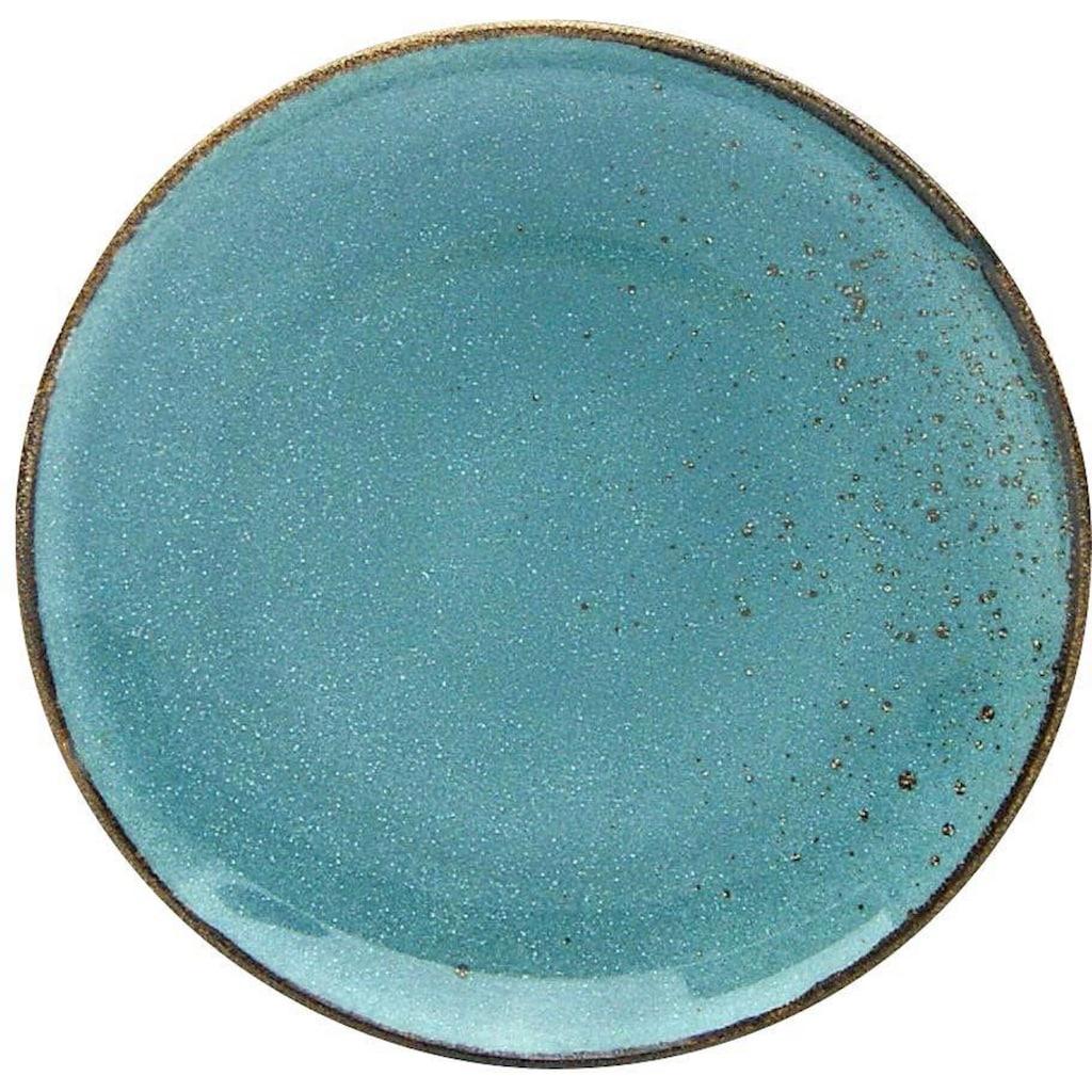 CreaTable Dessertteller »NATURE COLLECTION«, (Set, 6 St.), Ø 21 cm, Steinzeug