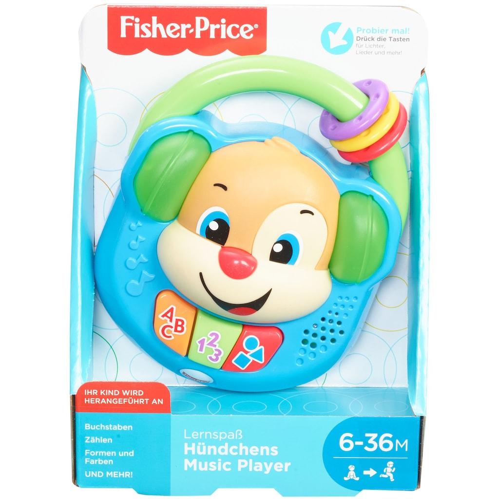 Fisher-Price® Lernspielzeug »Hündchens Musik-Player«, mit Licht und Sound