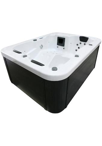 HOME DELUXE Whirlpool »White Marble«, BxLxH: 160x210x83 cm kaufen