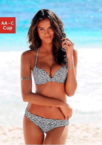 Venice Beach Push - Up - Bikini - Top »Melange« kaufen