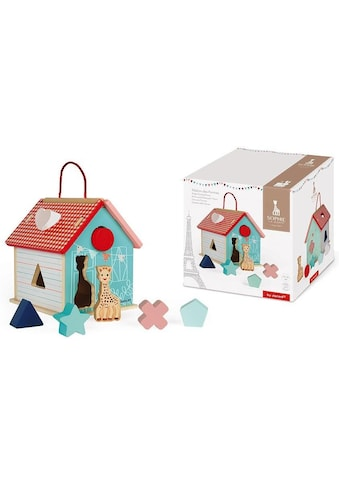 Janod Steckspielzeug »Sophie la Girafe Steck-und Sortierspiel Haus« kaufen