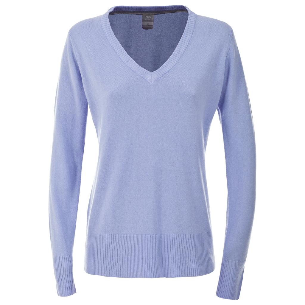 Trespass V-Ausschnitt-Pullover »Damen Sansa Langarm Pullover mit V-Ausschnitt«