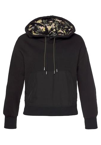 s.Oliver Kapuzensweatshirt, mit doppelt eingezogener Kordel und teilweise mit... kaufen