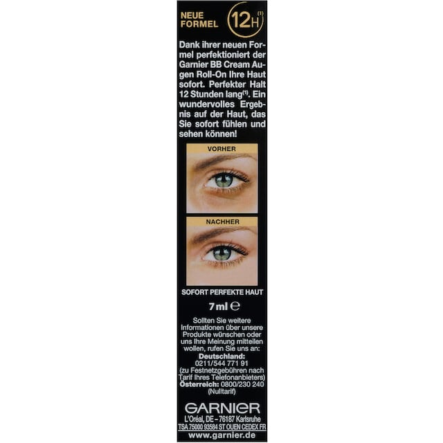 """GARNIER Augen-Roll-on """"Miracle Skin Perfector BB Cream"""""""