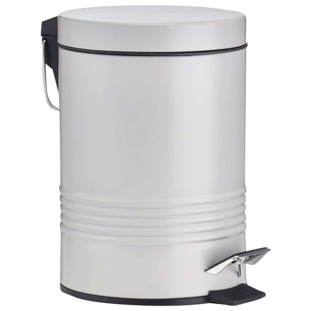 Zeller Present Mülleimer »Metall«, 3 Liter Fassungsvermögen