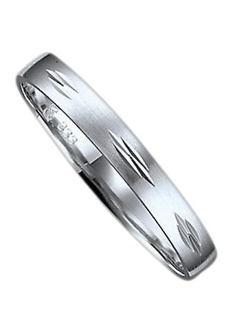 Firetti Trauring mit Gravur »seidenmatt, Diamantschnitt, 3,0 mm breit«, Made in... kaufen