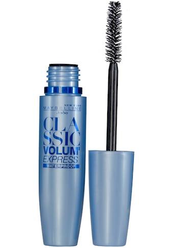 MAYBELLINE NEW YORK Mascara »Volum'Express waterproof«, Spezielle Bürste kaufen